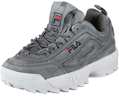 Grey Grau Fila S 10104366QW Low Turnschuhe Monument Disruptor FnAgPq