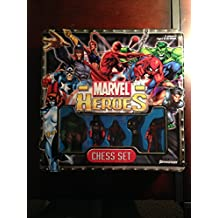 Marvel Heroes Chess Set (Tin Box)