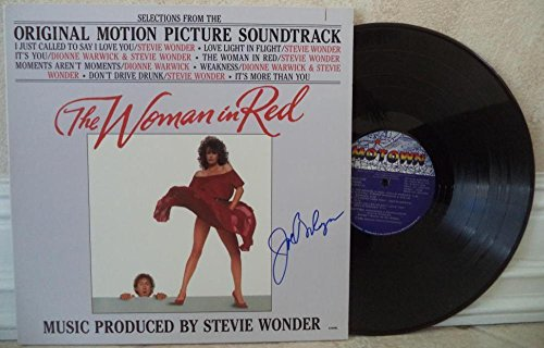 Joseph Bologna The Woman Is Red Autographed Signed Vinyl Record Album W/coa