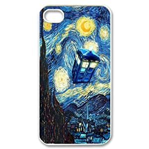 Doctor Who DIY Cover Case for Iphone 4,4S,personalized phone case ygtg-314033