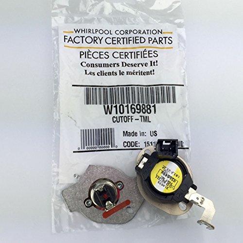 W10169881 Genuine OEM Whirlpool FSP Dryer Thermostat Ther...