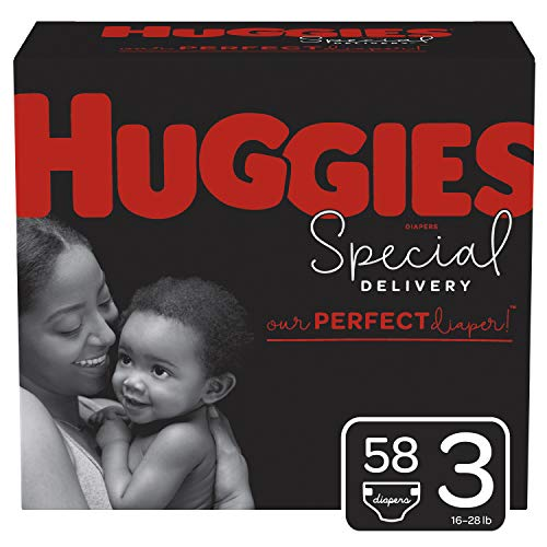 Huggies Special Delivery Hypoallergenic Baby Diapers, Size 3, 58 Ct