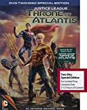 DC Universe Original Movie - Justice League Throne of Atlantis DVD - 2 Disc Special Edition with Over 2 1/2 Hours of Content