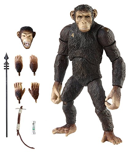 Hiya Rise of The Planet of The Apes Caesar 6 Inch Scale Action Figure (Dawn Of The Planet Of The Apes Toys)