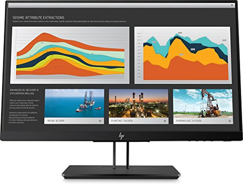 (HP 21.5-Inch Screen LED-lit Monitor Space Silver/Black Pearl Chin/Die-Cast Aluminum Base with Black Pearl Paint (1JS05A8#ABA))