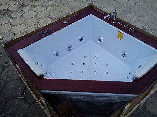 Sevilla 667 calentador Whirlpool moderna bañera con accesorios 24 chorros para el cuerpo./Ozone esterilización/elegante/El consumo de agua de ducha teléfono ...