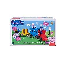 Peppa Pig George's Train Ride 23-Piece Construction Set