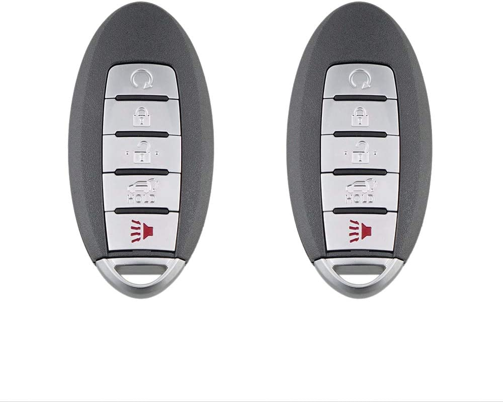 TG Auto 5 Buttons 433Mhz 4A Chip S180144308 KR5S180144014 Smart Car Fob Remote Keyless Entry Key For 2015-2016 Nissan Pathfinder 2015-2016 Murano