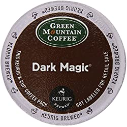Keurig, Green Mountain Coffee, Dark Magic (Extra Bold), K-Cup Counts, 50 Count