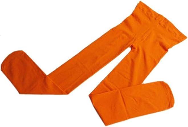 Pantys para niña Toogoo (R) de mezcla de algodón, color naranja: Amazon.es: Ropa y accesorios