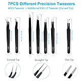 Precision ESD Tweezers, Anti-Static ESD Tweezers