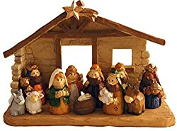 One Christmas Lane Kids Nativity Set