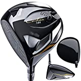 Cleveland Golf Men's 588 Custom Driver, Left Hand, Graphite, X-Stiff, 9.0-Degree, Black, 45.5-Inch
