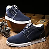 Meolin Fashion Men British Style Casual Flat Lazy Low Shoes/Shoes with Velvet,Synthetic Leather,9