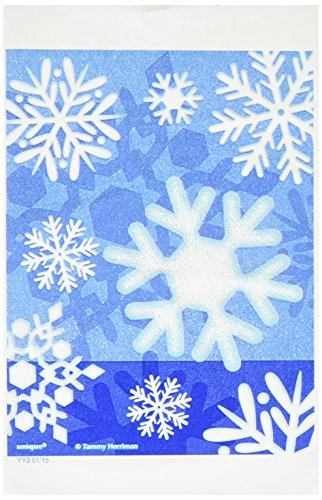 Winter Snowflake Holiday Treat Bags, 50ct -
