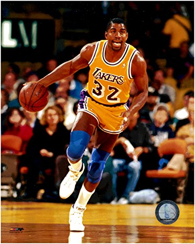 "Earvin ""Magic"" Johnson Los Angeles Lakers Unsigned 8 x 10 Photo 2 from Photo File"