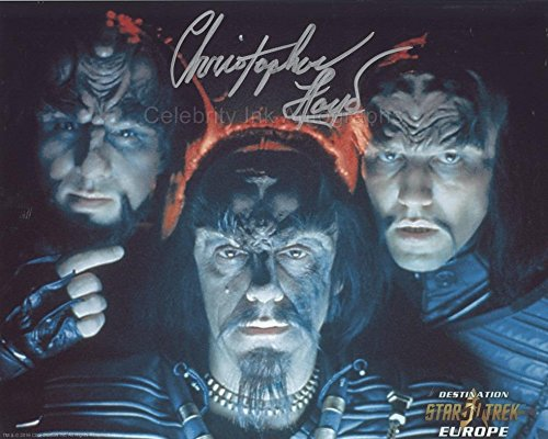 CHRISTOPHER LLOYD as Commander Kruge – Star Trek III GENUINE AUTOGRAPH