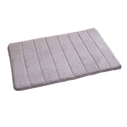daorier tapis de bain microfibre mmoire absorbante eau anti slip soft mnage tapis salle de bain - Tapis De Bain