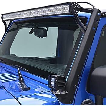 Amazoncom LED Light Bar YITAMOTOR 52 Inch Light Bars with Mounting