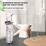 Homemaxs Toilet Paper Holder Stand [2021