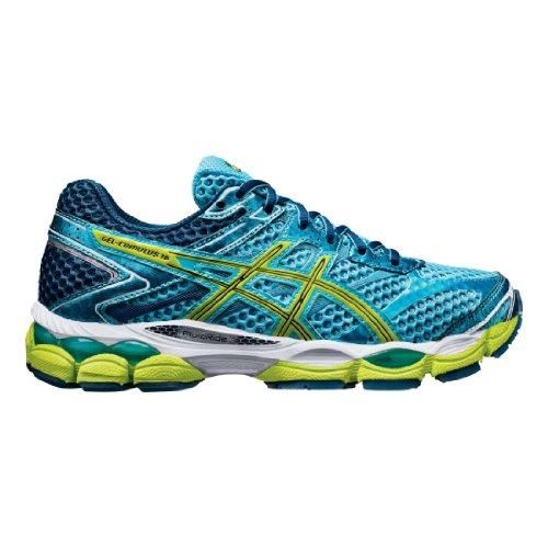ASICS Women's Gel-Cumulus 16 (D) Running Shoe,Turquoise/Sharp Green/Navy,11 D US