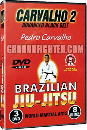 Pedro Carvalho Series 2, Brazilian Jiu-Jitsu Instructional DVDs with over 300 techniques