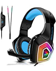 Tenswall Gaming Headset PS4 PC Xbox One PC