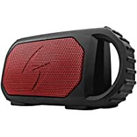 ECOXGEAR Eco Stone Portable Outdoor Bluetooth Speaker -Red (Certified Refurbished)