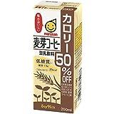 マルサン 豆乳飲料麦芽コーヒー カロリー50% オフ 200ml×24本