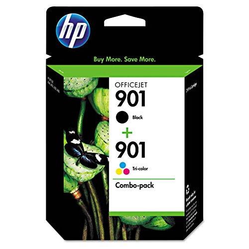 901 (CN069FN) 2-pack Black/Tri-color Original Ink Cartridges - Centernex update