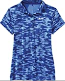 Nike woman's Golf Polo Shirt Blue Size Small