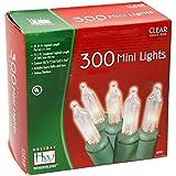 Holiday Wonderland 300-Count Clear Christmas Mini Light Set