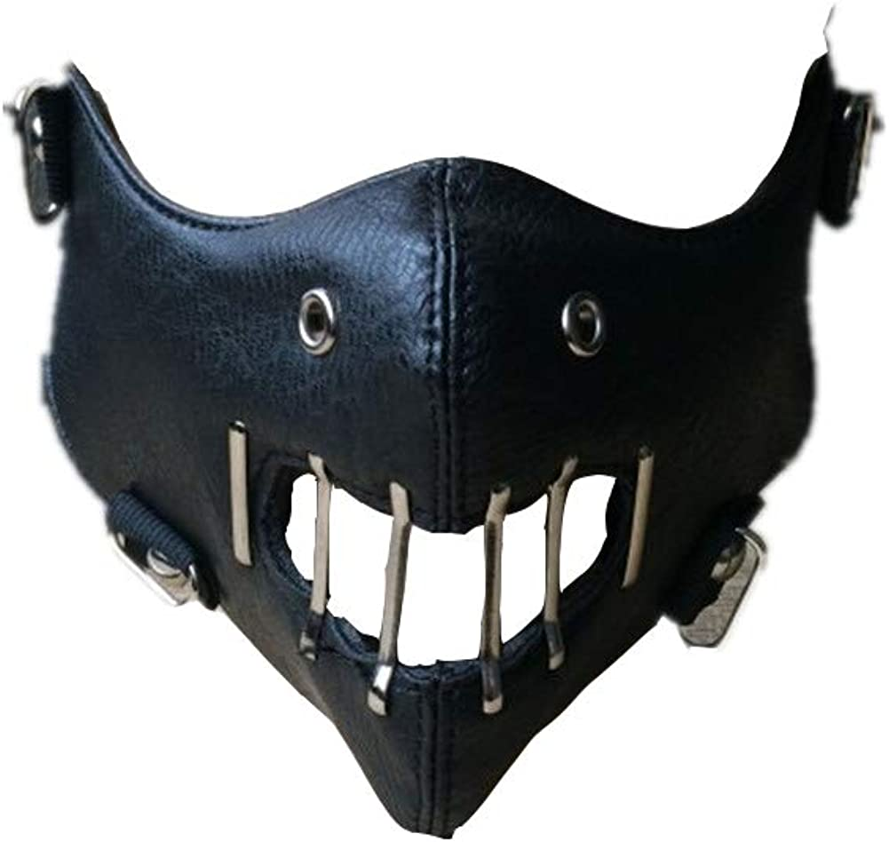Amazon Com Silence Of The Lambs Mask Hannibal Lecter Cosplay Half Face Mask Halloween Mask Black Clothing I don't know the specific name of this type of mask, but it is also. silence of the lambs mask hannibal lecter cosplay half face mask halloween mask black