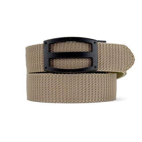 Titan EDC Tactical Belt Series Mens Canvas Gun Belts with Nylon Ratchet Straps - Nexbelt Ratchet System Technology