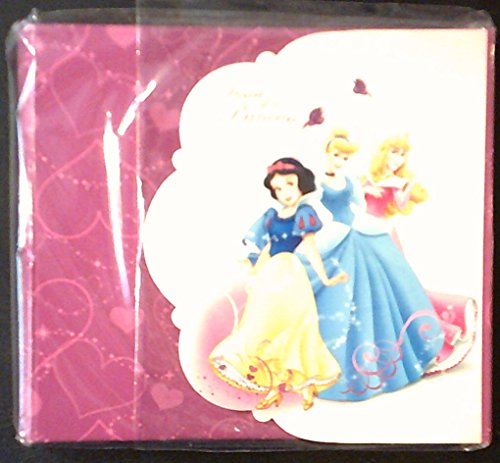 Disney's Heart of a Princess Notepad, Photo Album, and Sticker Kit