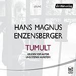 Tumult | Hans Magnus Enzensberger