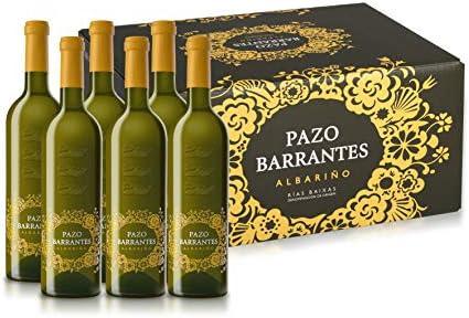 Pazo Barrantes Albariño 2018. Caja Cartón 6 botellas 0,75L: Amazon.es: Alimentación y bebidas
