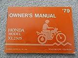 1979 Honda XL250S Owners Manual XL 250 S