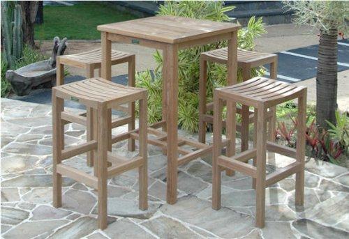 Anderson Teak Montego 5 Piece Patio Dining Set - Montego Patio Furniture