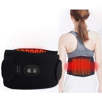 Cozywind - Cinturón de Masaje con calefacción, masajeador Lumbar, cinturón de Apoyo para la
