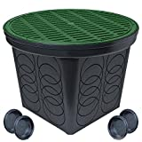 #7: StormDrain FSD-3017 20 in. Large Round Catch Basin with Green Grate Kit