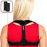 Back Posture Corrector for Women Men - Primate Posture Brace - Back Straightener – Shoulder Brace - Upper Back Brace Posture Support - Kyphosis Scoliosis Trainer Strap - Effective and Comfortable