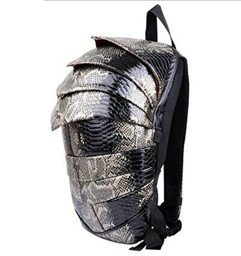 FZHLY BlackGray Shoulder Hombres Mochila Niños Wind Serpentine Beatles Street Bag Mochila Para Para PureBlack pqwSrp