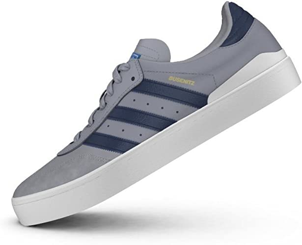adidas Skateboarding Busenitz Vulc Samba Edition, light onix-collegiate  navy-bluebird, 11: Amazon.co.uk: Shoes & Bags