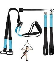 Schlingentrainer Sling Trainer Schlingentraining Set mit Türanker für Ganzk?rpertraining zuhause oder im Fitnessstudio von KEAFOLS MEHRWEG