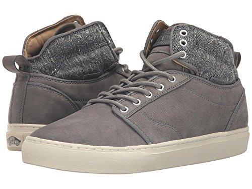 Zapatillas De Deporte Vans Hombres Alomar Tweed Grey Suede Fashion (6.5)