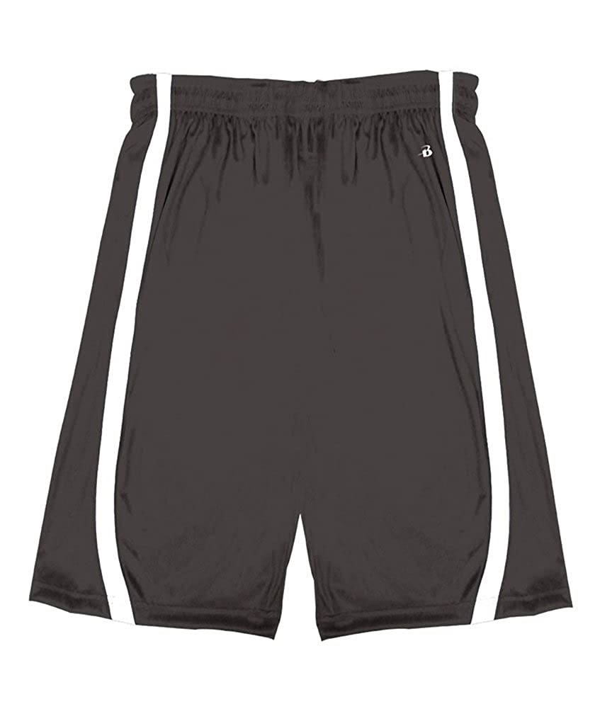 2244 Badger boys B-Slam Reversible 6 Short
