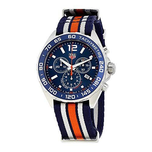 - Tag Heuer Formula 1 Blue Chronograph Mens Watch CAZ1014.FC8196