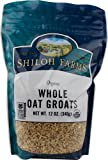 Shiloh Farms: Whole Stabilized Oat Groats 12 Oz (6 Pack)