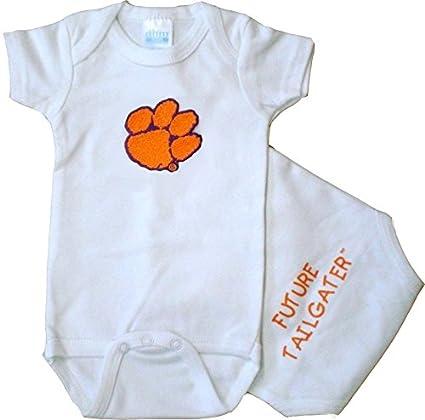 066ffc990 Amazon.com: Future Tailgater Clemson Tigers FT Baby Onesie: Sports ...